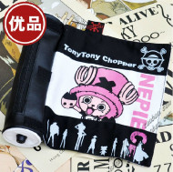 One Piece Chopper Scroll Pencil Bag Pink