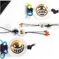 One Piece Fire Fist Phone Chain