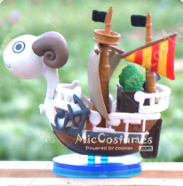 One Piece Going Merry Keychain
