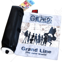 One Piece Grand Line Scroll Pencil Bag