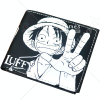 One Piece Luffy Bifold Black Wallet