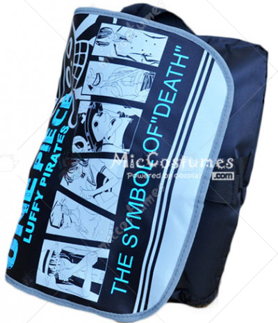 One Piece Luffy Pirates Print Shoulder Bag
