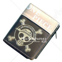 One Piece Luffy Skeleton Mark Bifold Wallet