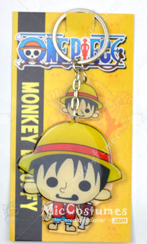 One Piece Monkey Luffy Keychain