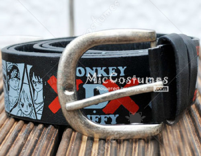 One Piece Pirate Belt Black