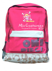One Piece Skeleton Mark Red Backpack