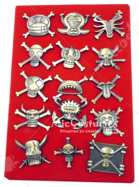 One Piece Straw Hat Pirates Badge