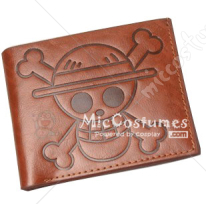 One Piece Straw Hat Pirates Flag Bifold Wallet