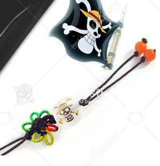 One Piece Straw Hat Pirates Phone Chain