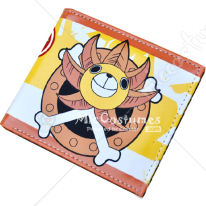 One Piece Thousand Sunny Bifold Wallet Yellow