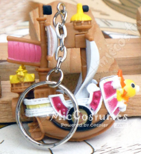 One Piece Thousand Sunny Keychain
