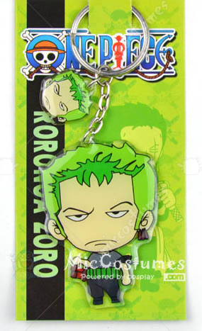 One Piece Zoro Keychain