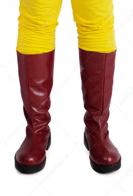 One Punch Man Saitama Cosplay Boots