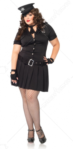 Officer Arrest Me Adult Plus Costume