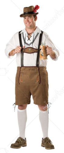 Oktoberfest Guy Adult Plus Size Costume