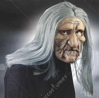 Old Man Realistic Mask