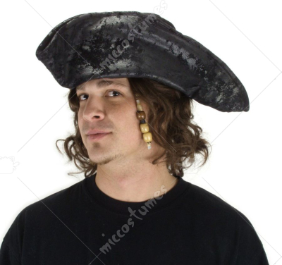Old Pirate Black Hat