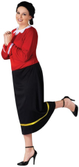 Olive Oyl Adult Plus Costume
