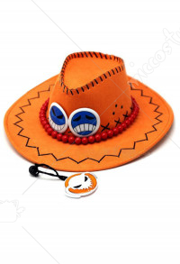 One Piece Portgaz D Ace Cosplay Hat