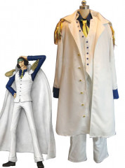 One Piece Aokiji Kuzan Cosplay Costume