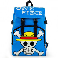 One Piece Leatherette Backpack Three Colors