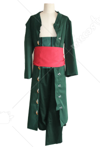 One Piece New World Roronoa Zoro Cosplay Costume