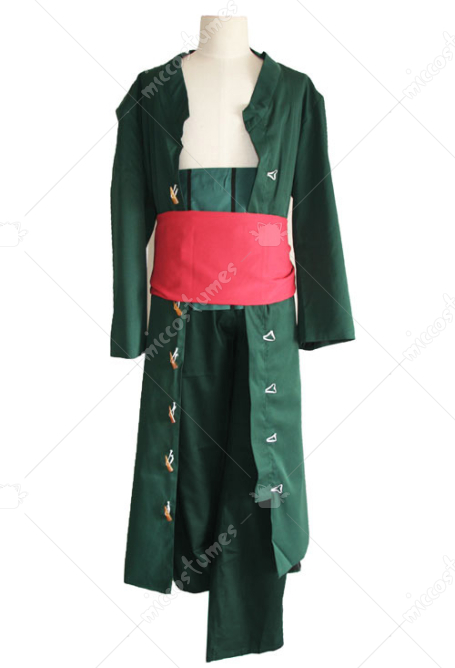 One Piece New World Roronoa Zoro Cosplay Kostüme