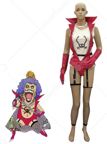 One Piece Emporio Ivankov Cosplay Costume