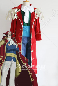 One Piece Gol D. Roger Cosplay Costume