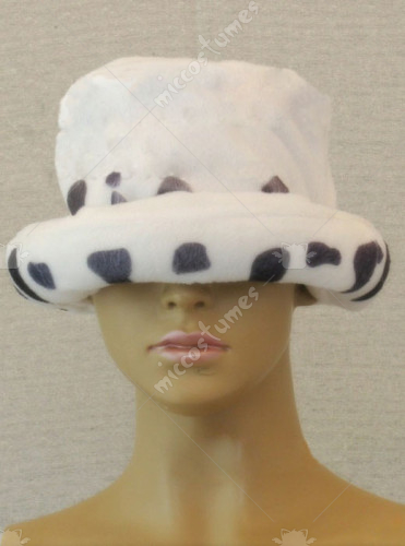 One Piece Heart Pirates Trafalgar Law Cosplay Hat