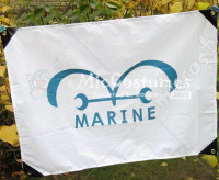 One Piece Marine Flag
