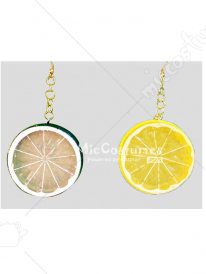 One Piece Nami Lemon Earrings