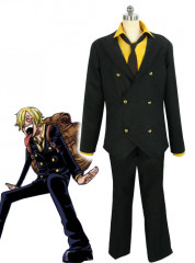 One Piece New World Sanji Cosplay Suit