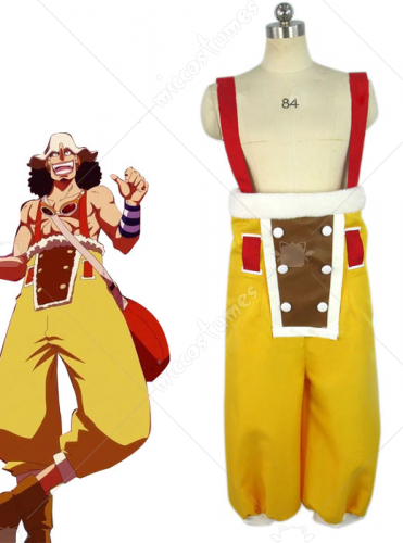 One Piece New World Usopp Cosplay Costume