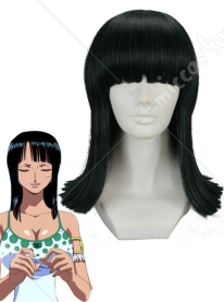 One Piece Nico Robin Cosplay Wig