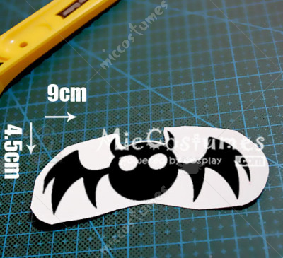 One Piece Perona Cosplay Tattoo Sticker