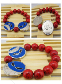 One Piece Portgaz D Ace Cosplay Bracelet