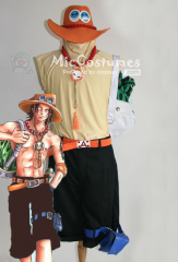 One Piece Portgaz D Ace Cosplay Costume