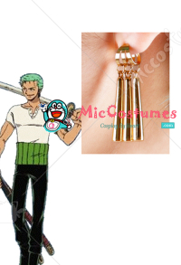 One Piece Roronoa Zoro Cosplay Earrings