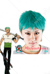 One Piece Roronoa Zoro Cosplay Wig