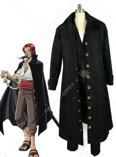 One Piece Shanks Cosplay Costume