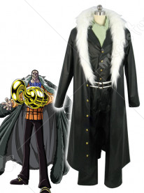 One Piece Sir Crocodile Cosplay Costume