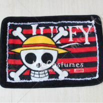 One Piece Straw Hat Pirates Doormat