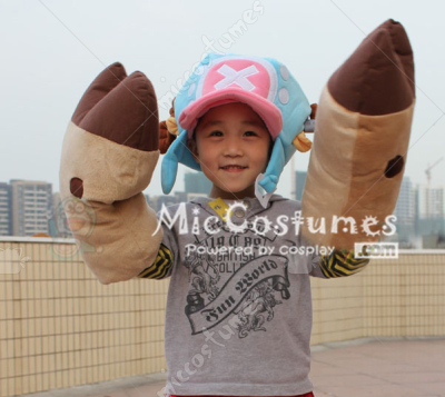 One Piece Tony Tony Chopper Gloves