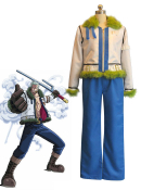 One Piece White Chase Smoker Cosplay Costume