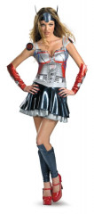 Transformers Optimus Prime Adlt Female Costume
