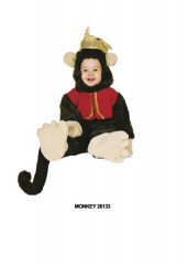 Organ Grinder Monkey Toddler Costume