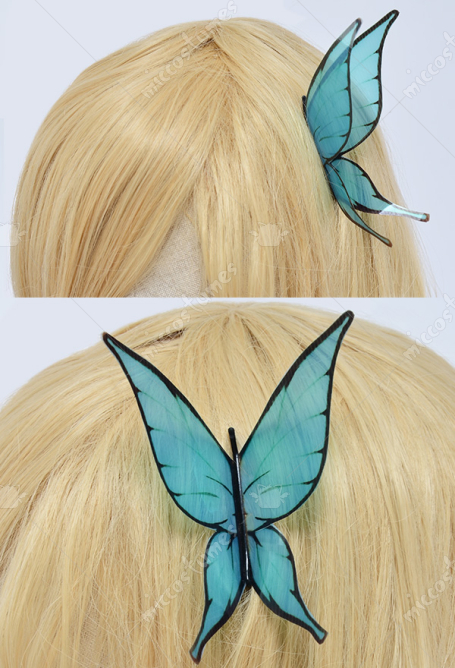 Butterfly Hair Clip For Sena Kashiwazak Cosplay