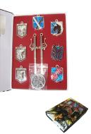 Attack on Titan Necklace Pendant Set
