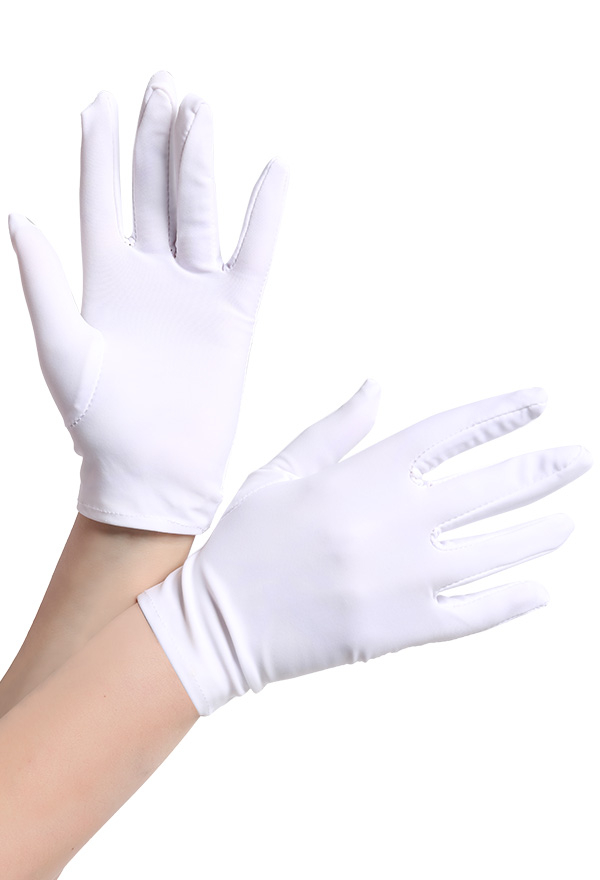 Classic Simple Gloves For Cosplay